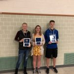 High School Co-Ed Cross Country Hold Award Recognition Night