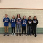 Jr. High Co-Ed Cross Country Hold Award Recognition Night