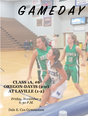 LaVille Lady Hoops Set To Challenge Class 1A, No.6-ranked Oregon-Davis