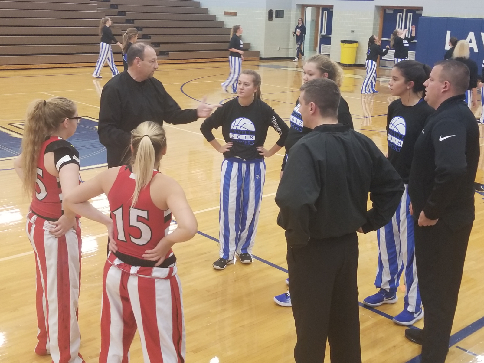 Press Too Much For LaVille Lady Hoops In Loss To OD