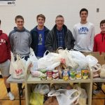 LaVille, Jimtown Come Together To Collect Food Pantry Items