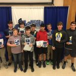 Junior High Football Awards Presented