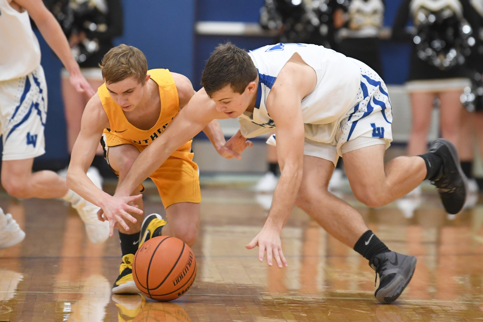 Class 2A #3 LaVille Basketball In HNAC Action At Knox