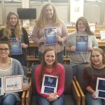 LaVille Lady Hoops Celebrate Awards Recognition