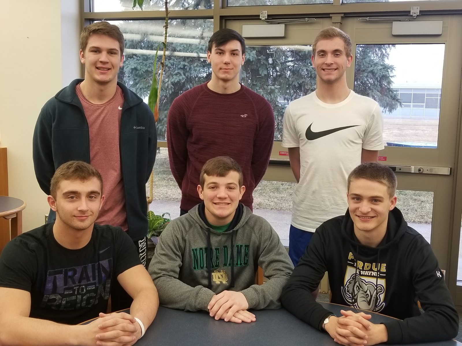 Seven Lancers Named To Winter HNAC All-Academic Team