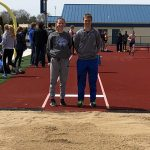 LaVille Varsity Track finishes 3rd place at Oak Hill Relays