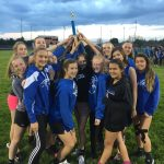 13 Middle School Girls Take Conference Title