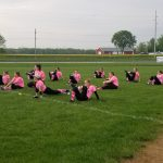Softball Pink Out Game 2019