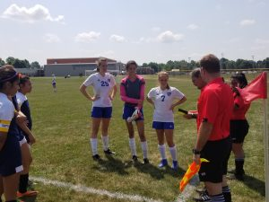 LaVille Girls Soccer At Argos Summer Fest