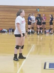 LaVille Volleyball First Day Of Practice