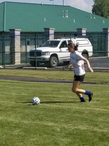 Girls Soccer Working The Fundamentals