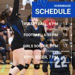 LaVille Athletic Teams Set For Scrimmage Week