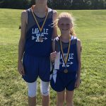 Brother-Sister Combo Earn Medals To Lead LaVille XC At Fairfield Invite