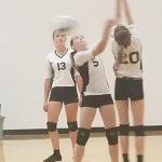 Jr. High Volleyball v. Triton