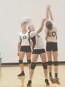 Jr. High Volleyball v. Triton