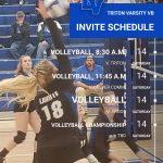 Varsity Volleyball Set To Travel To Triton Invitational; Pairings Set