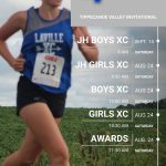 LaVille Co-Ed Cross Country Running At Tippecanoe Valley