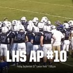 LaVille Football #10 In Weekly AP Poll