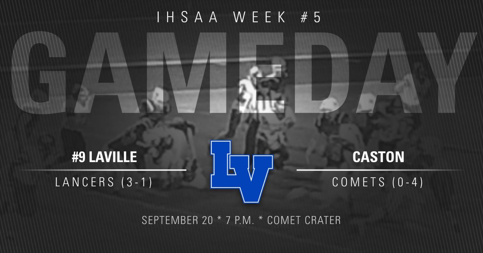 IHSAA WEEK #5: Class 2A #9 LaVille At Caston