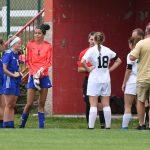 LaVille Girls Soccer Action