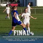Gorka's Shot Propels Girls Soccer Into IHSAA Semfinal Round