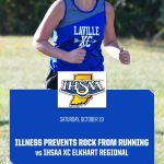 Untimely Illness Prevents Rock From Running In XC Regional