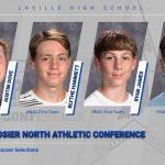 Dove, Hammett, James, Plummer Among HNAC Soccer Selections