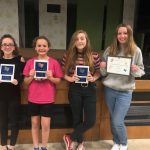 Seventh Grade Volleyball Award Recipients