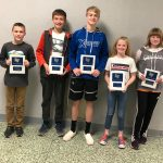 Junior High Co-Ed Cross Country Holds Awards Recognition Program