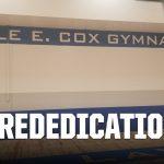Rededication Date Set For Dale E. Cox Gmnasium