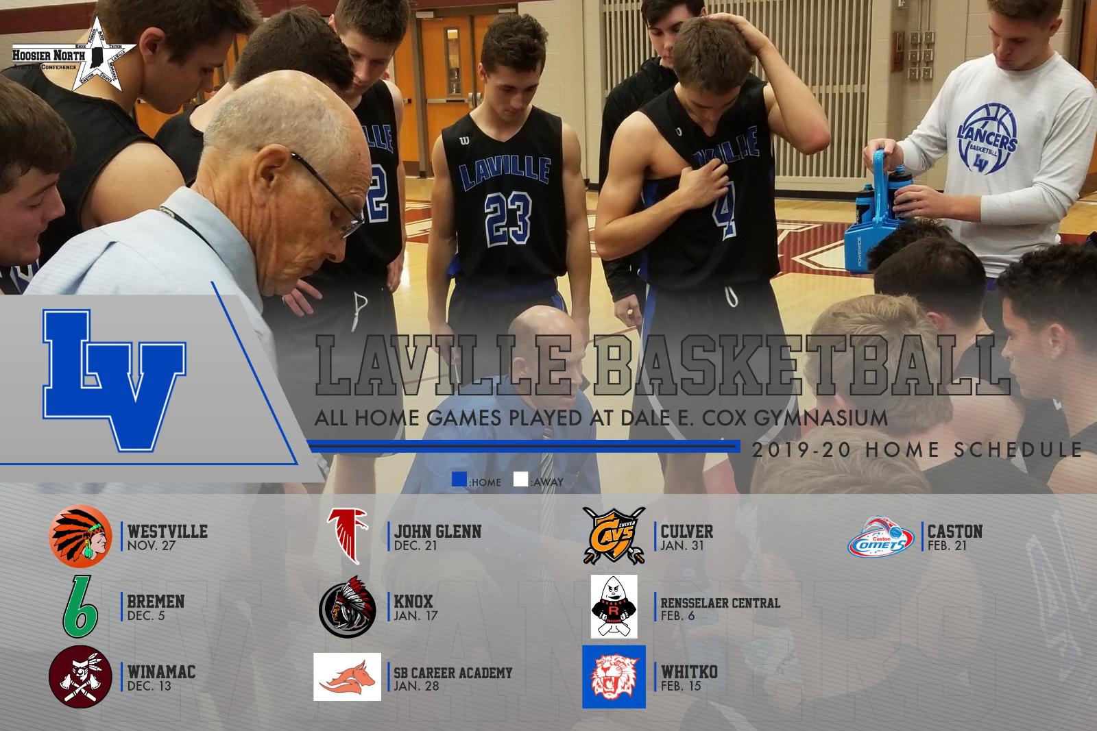 LaVille Basketball To Open Season November 27