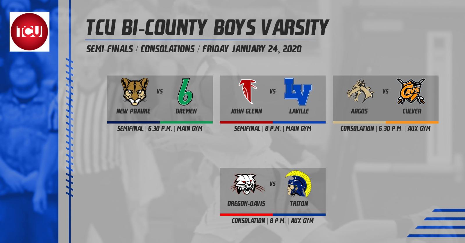 TCU Bi-County Basketball Pairings: Friday, January 24