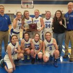 Girls JV Basketball Wins First TCU Title Since 1987