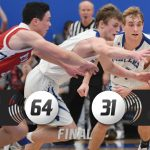 Basketball Uses Scoring Spurts, Pressure Defense To Claim Share Of HNAC Title