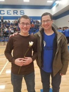 Winter Senior Recognition Night Snapshots