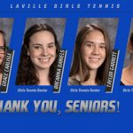 Thank You Girls Tennis Seniors!