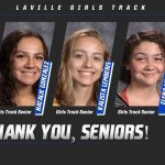Thank You Girls Track Seniors!