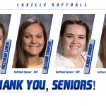 Thank You Softball Seniors!