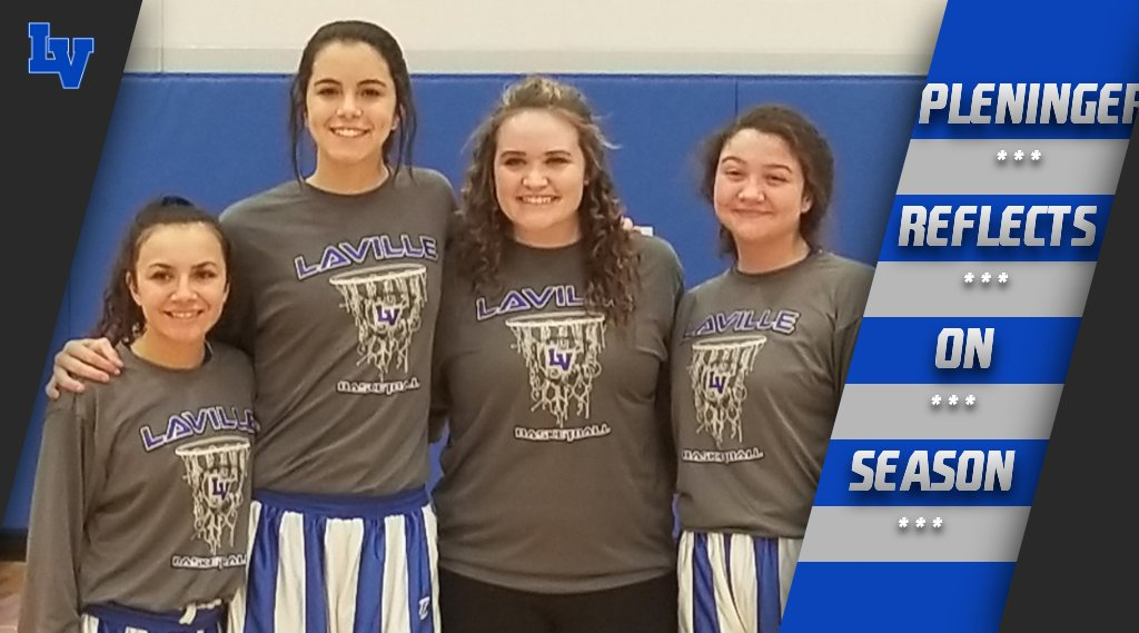 Pleninger Reflects On First Season With LaVille Lady Hoops