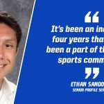 "ETHAN SANDOVAL: ""Being A Student-Athlete At LaVille Isn't Just About LaVille Athletes"""