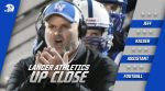 Lancer Athletics: Up Close With Football Assistant Jeff Kaiser