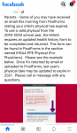 Important IHSAA PPE Physical Information