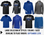 LaVille Football Team Store Open For Business!