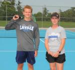 2020 LaVille Boys Tennis