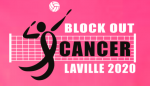 Volleyball Selling Block Out Cancer Shirts
