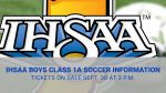 IHSAA Class 1A LaVille Boys Soccer Sectional Ticket Information