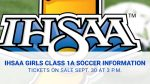IHSAA Class 1A LaVille Girls Soccer Sectional Ticket Information