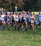 Girls Varsity Cross Country Competes at IHSAA Cross country Sectional