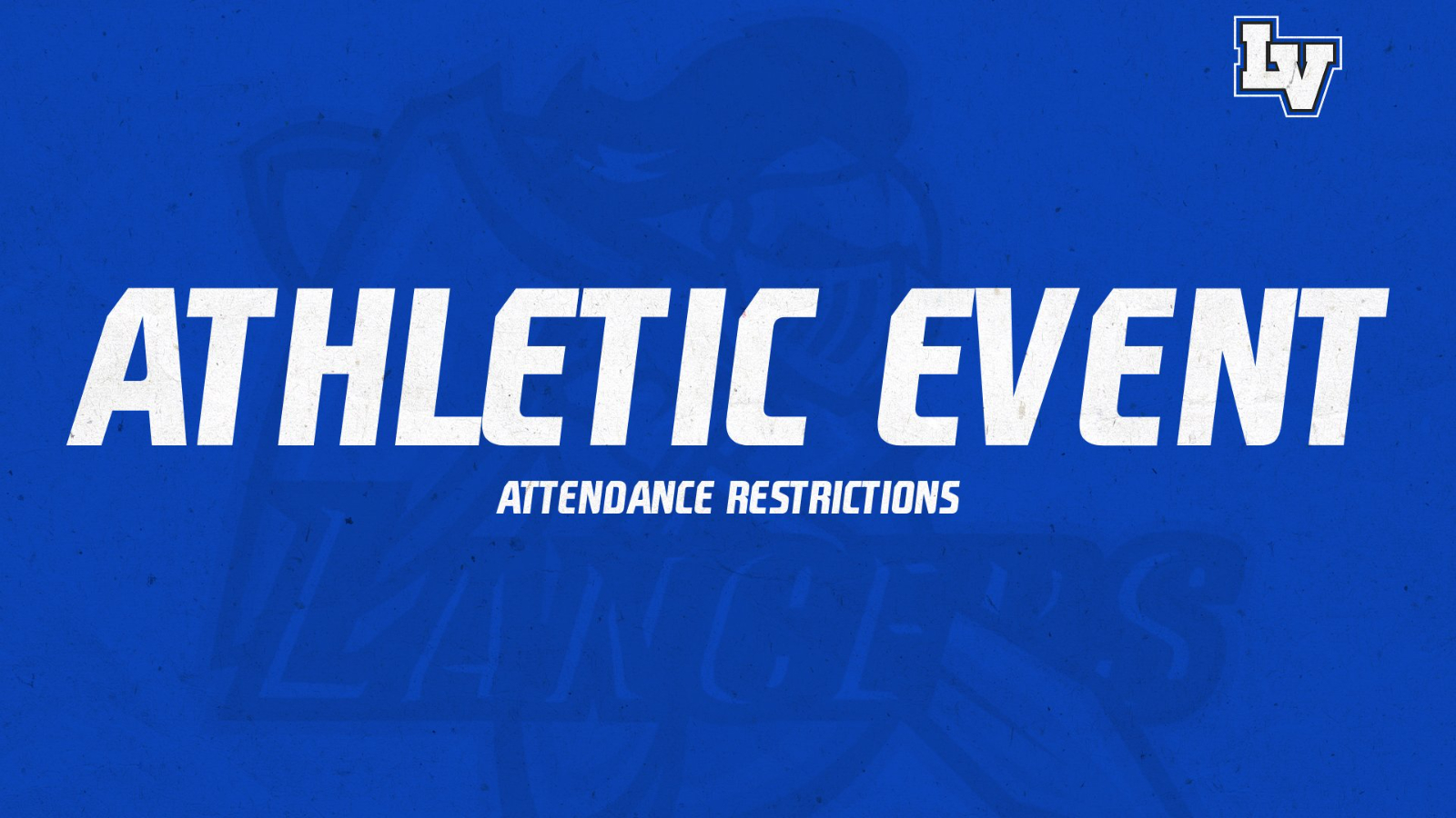 Athletic Event Attendance Restrictions