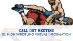 Virtual Jr. High Wrestling Meeting Information